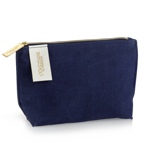 Summer Collection Blue Cosmetic Bag