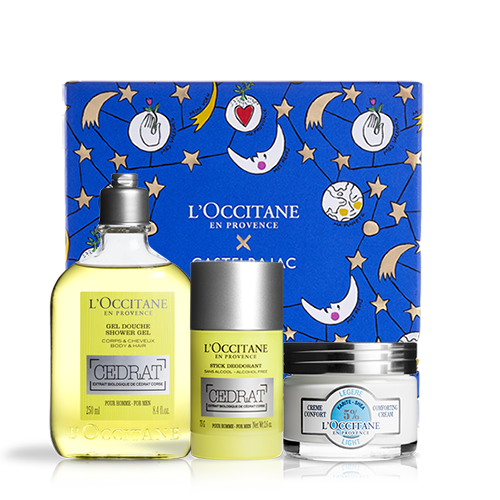 Cedrat & Shea body and face care set