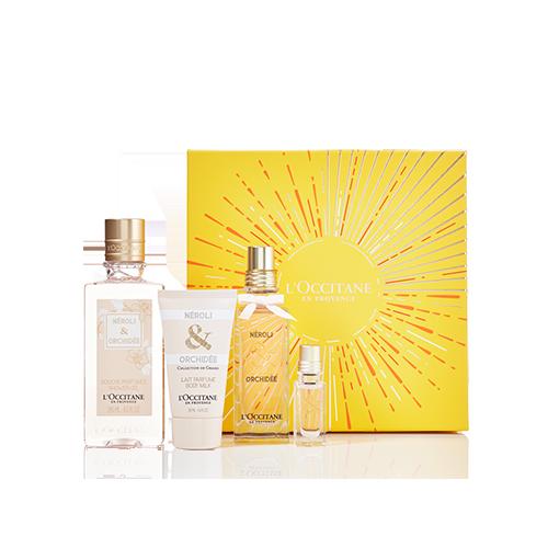 ELEGANT & VOLUPTUOUS Néroli & Orchidée Perfume Set