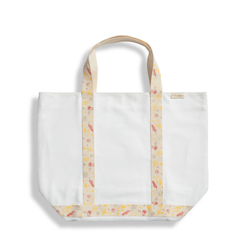 Šventinis krepšys dviejų ilgių rankenomis