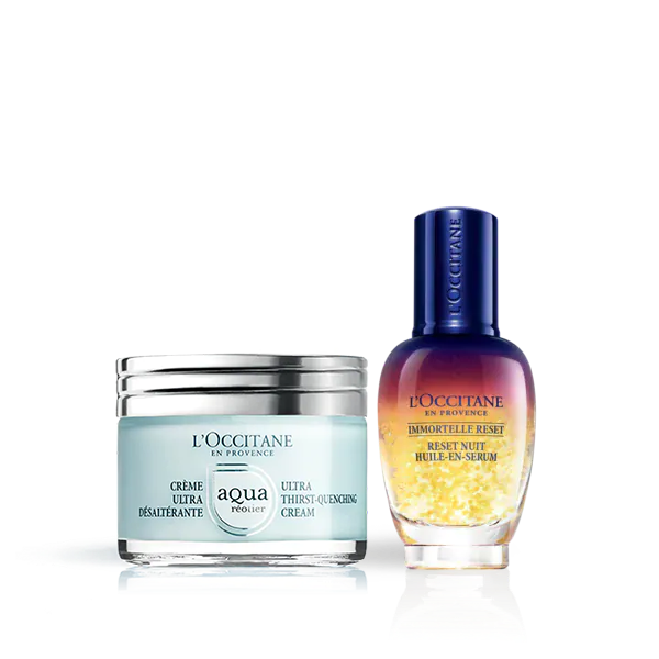Aqua Cream Radiance Routine