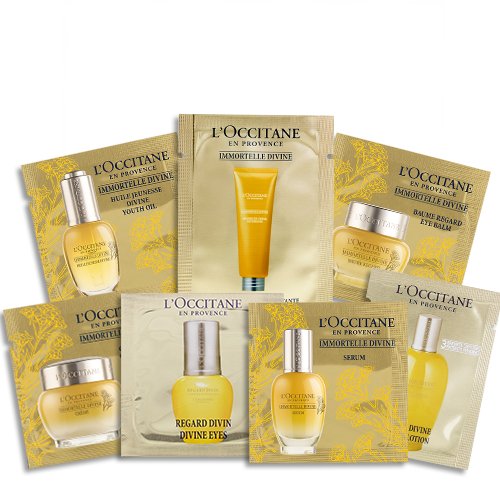 Anti aging Sample set Divine