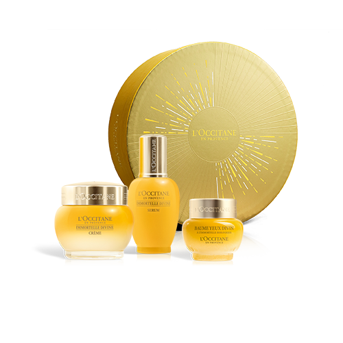 IMMORTELLE DIVINE - COMPLETE ANTI AGE FACE CARE SET