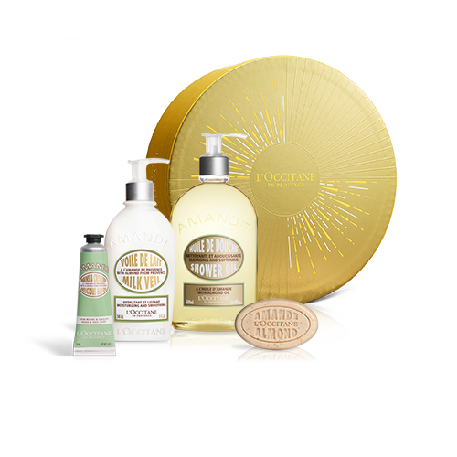 SMOOTHING ALMOND BODY CARE SET