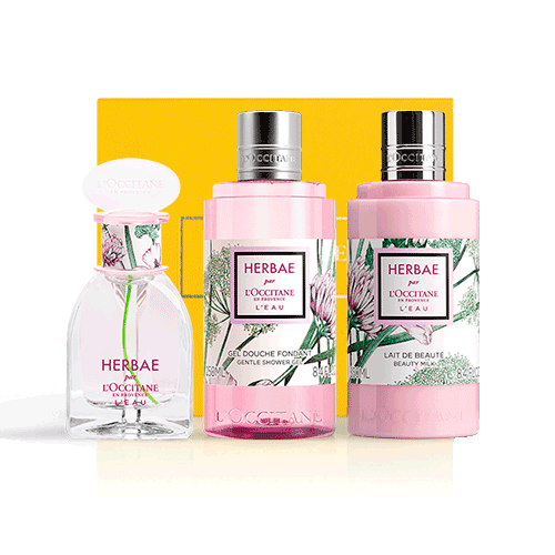 Perfumed set HERBAE Ode to originality (exclusively in the online store)