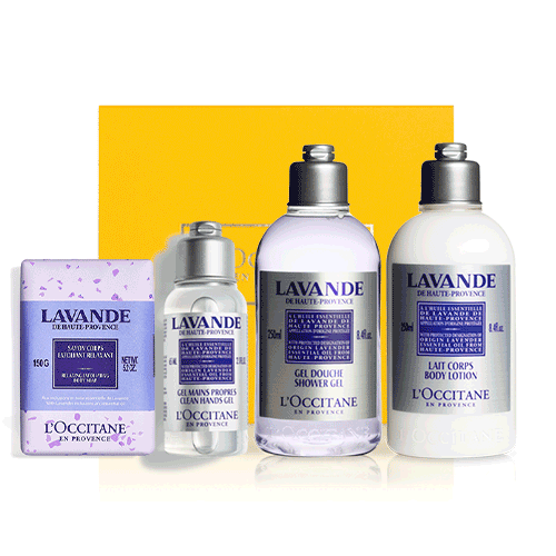 CORSICANIAN LAVENDER body set (exclusively in the online store)