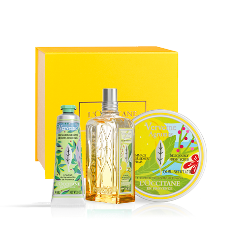 Perfume set Verbena LIMITED COLLECTION (exclusively in the online shop)