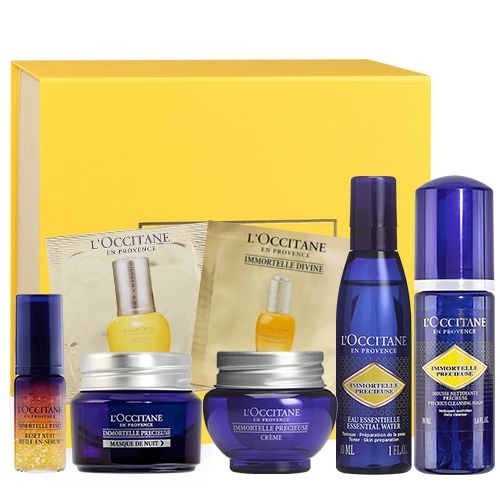 "Immortelle face care set ""Precious"""