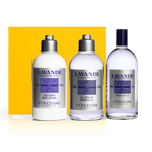Perfumed set BLUE GOLD OF PROVENCE - LAVENDER   (exclusively in the online store)