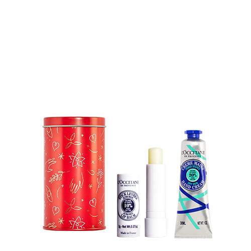 Hands and lips care set