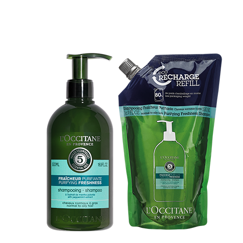 Purifying Freshness Shampoo Refill Duo
