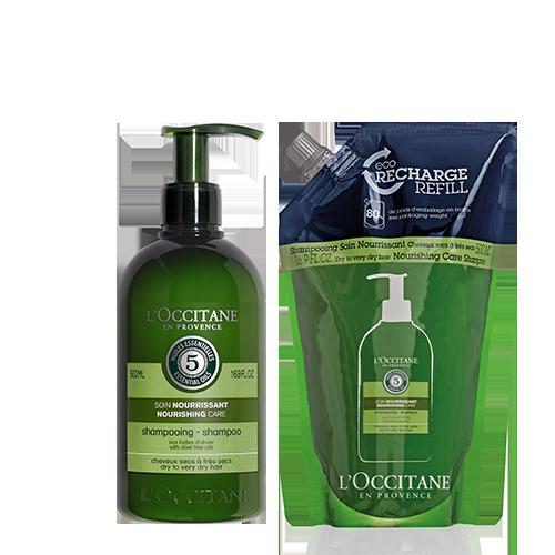 Nourishing Care Shampoo Refill Duo