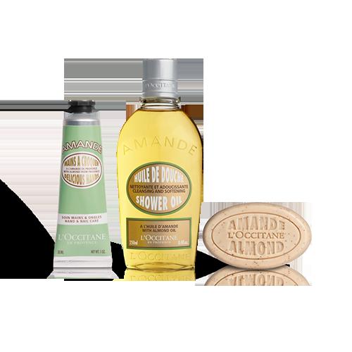 Almond Body Care Set