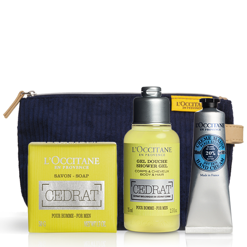 Cedrat Travel Set