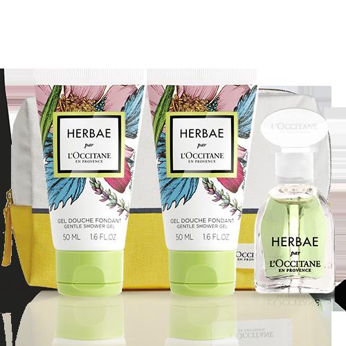 Herbae комплект открытие