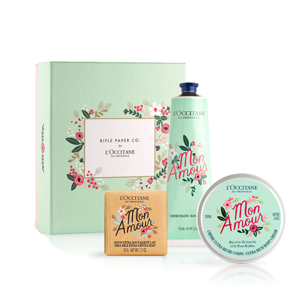 Rifle Paper Co. x L'OCCITANE Collection