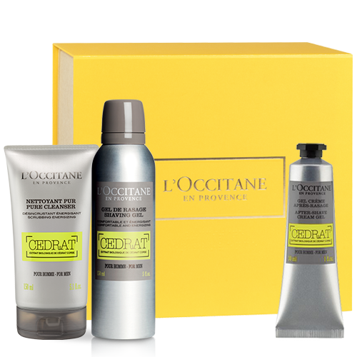 Face Care Set Cedrat