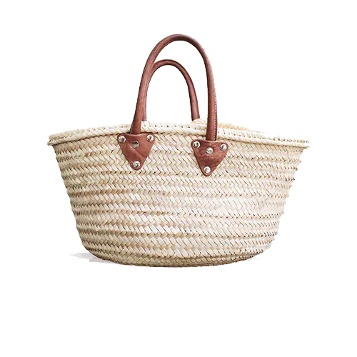 Wicker shopping bag