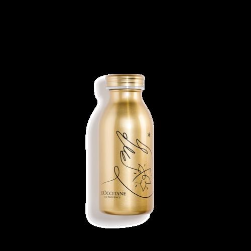 Golden colour bottle
