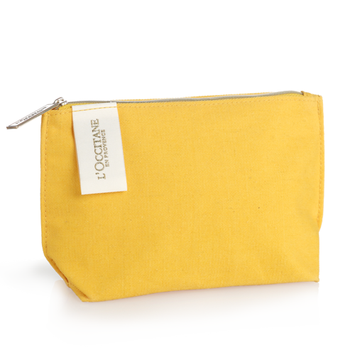 Summer Collection yellow Cosmetic Bag
