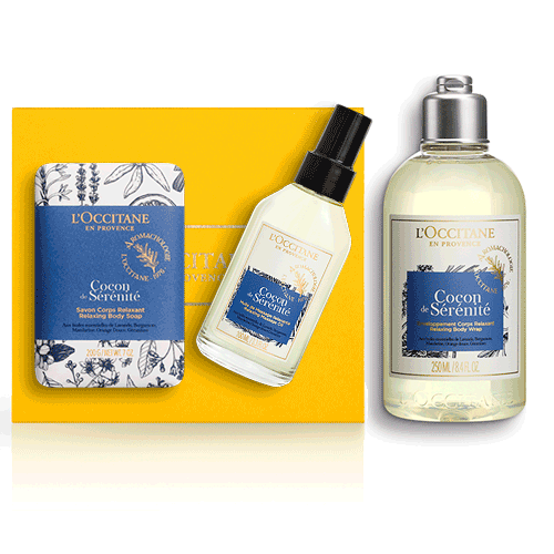 SPA-body care set CARELESSNESS AURA (exclusively in the online store)