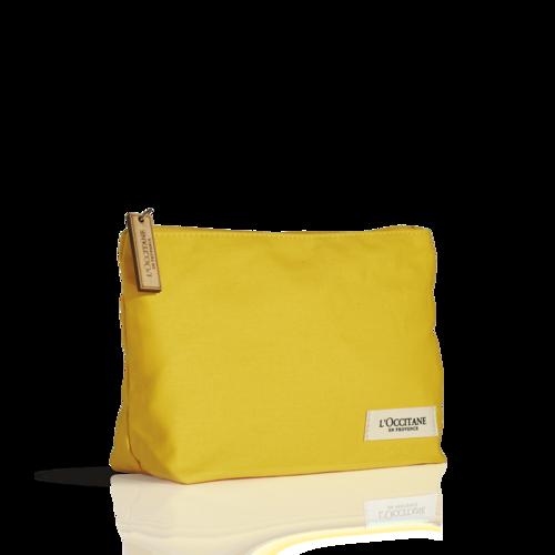 Косметичка жёлтая