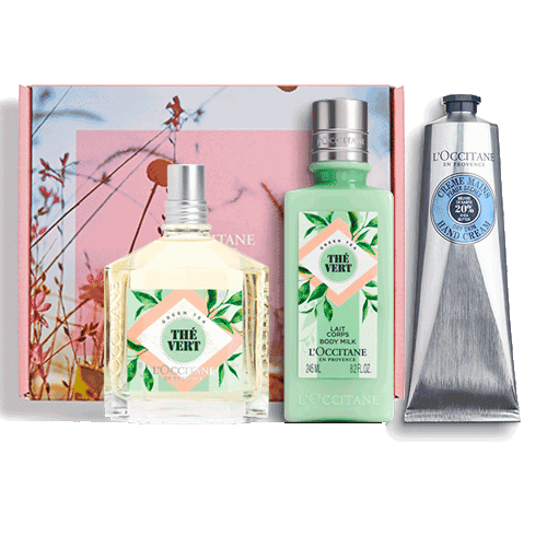 Perfumed set GREEN TEA LIMITED COLLECTION (exclusive only in the online store)