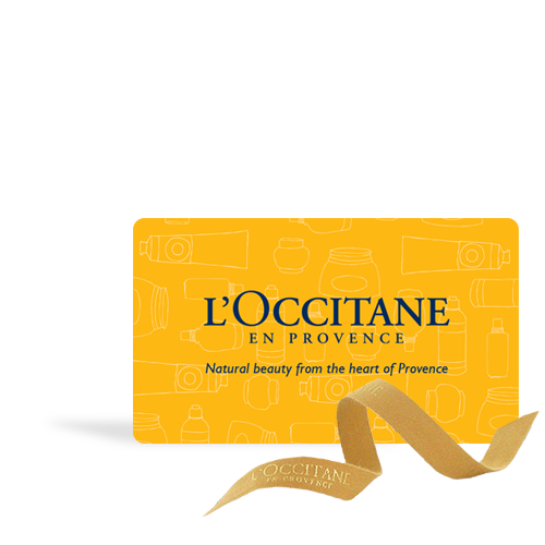 L'OCCITANE Boutique Gift Card $50