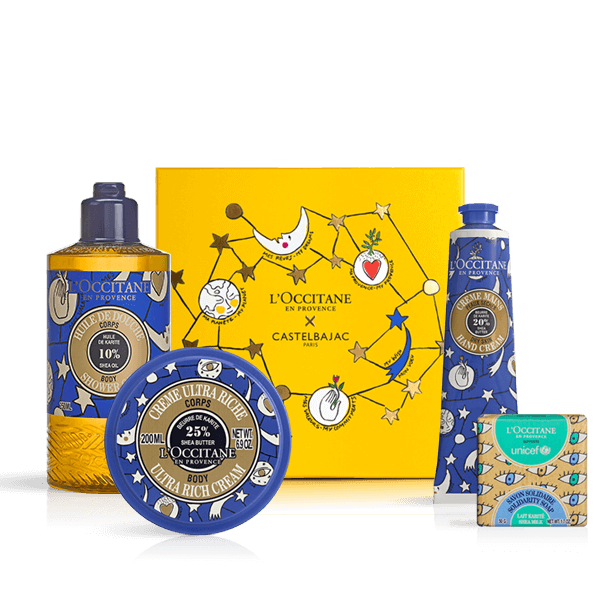 Castelbajac Nourishing Shea Butter Collection