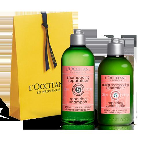 Dúo Shampoo & Acondicionador para cabello Seco y Dañado