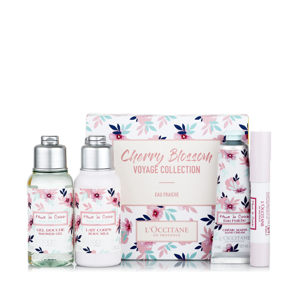 Cherry Eau Fraiche Travel Set