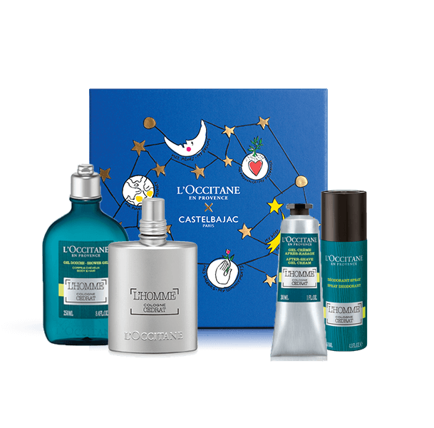 Energising L'Homme Collection | L'Occitane | L'Occitane Australia | Tuggl
