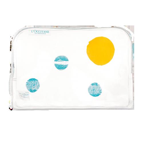 Transparent beach cosmetics bag 2019