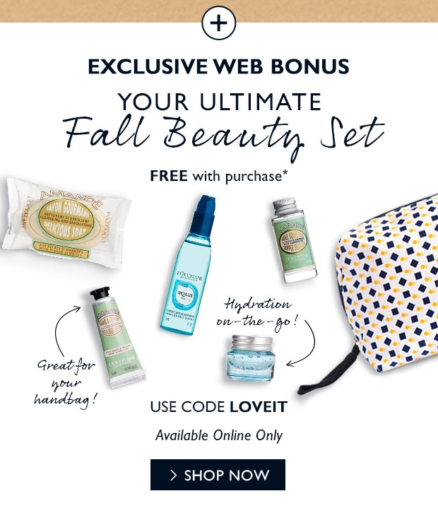 FREE Web Bonus* USE CODE LOVEIT. SHOP NOW