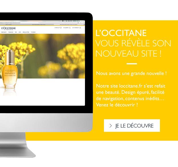 L'Occitane vous révèle son nouveau site !