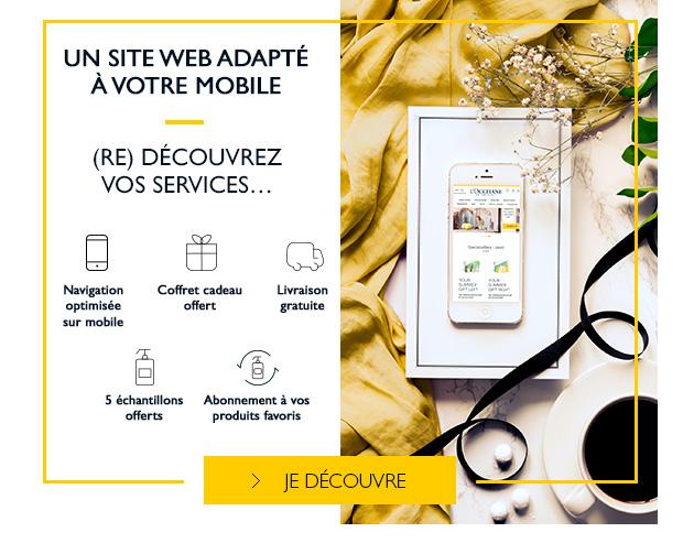 UN SITE WEB ADAPTÉ À VOTRE MOBILE