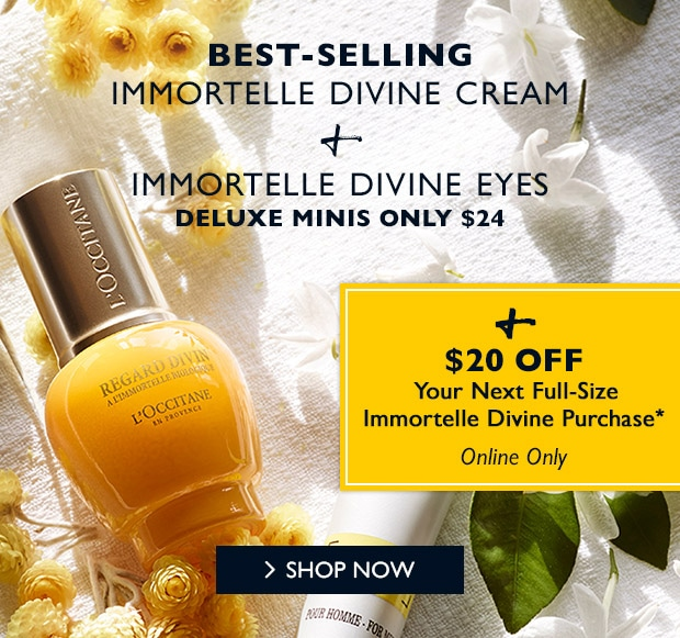 2 Anti-Aging Minis + $20 Off* SHOP NOW.