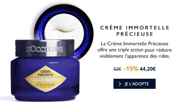 Crème Immortelle Précieuse