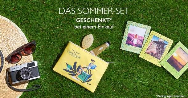 Sommer-Set geschenkt