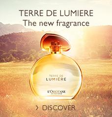 new eau  de Parfum Terre de Lumière>