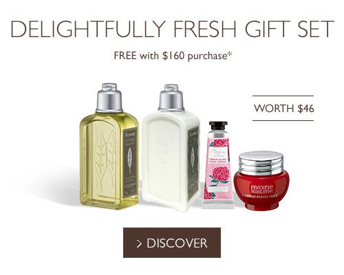 Delightfully Fresh Gift Set