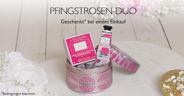 Pfingstrosen-Duo