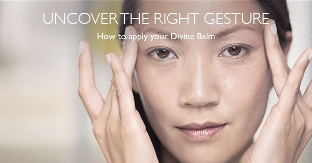 How to apply divine balm