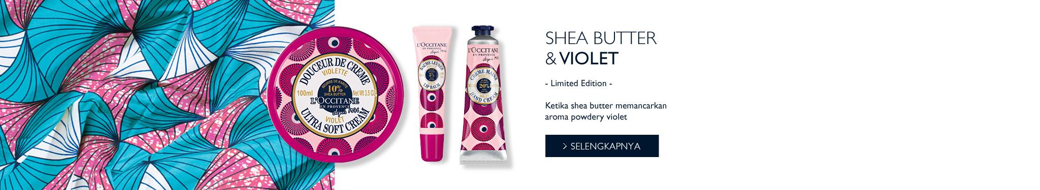 Shea Butter Violet