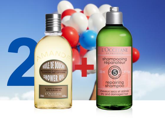 regalo aceite de ducha almendra y shampoo aromacología
