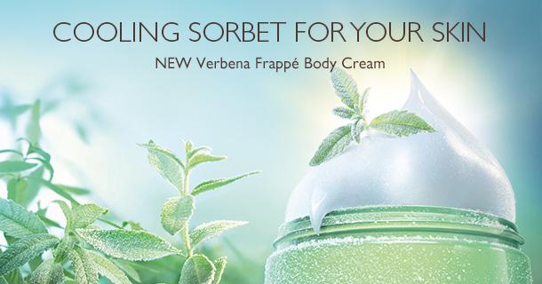 Verbena Frappe Cream