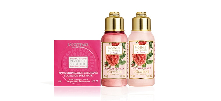 Floral Beauty Gift Set