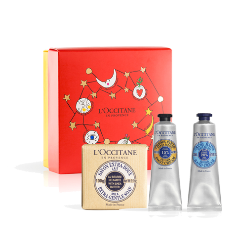 NOURISHING SHEA BUTTER VOYAGE SET