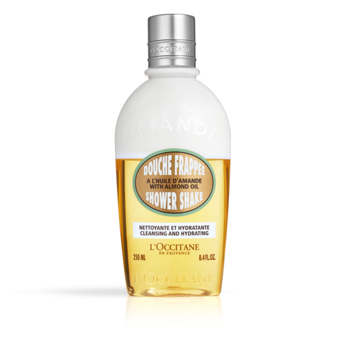 Biphasic Almond shower oil