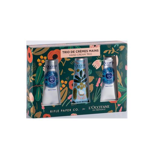 Trío de Cremas de Manos Edición Especial Riffle Paper Co.
